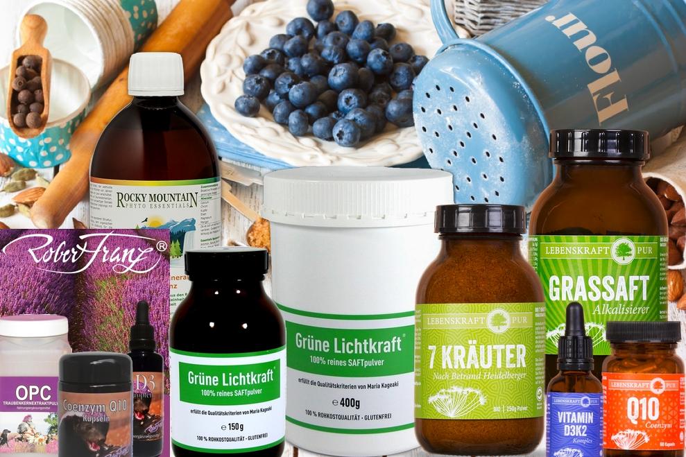 Nahrungsergänzungsmittel für eine gesunde Gelenkfunktion mit dem hoch dosierten Hyaluron-Chondroitin-Komplex. Es strafft die Haut und das Bindegewebe, hält den Knorpel elastisch und schmiert unsere Gelenke.