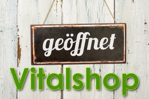 Hier geht es zum Vitalshop, unserem Onlinshop rund um die gesunde Ernährung!